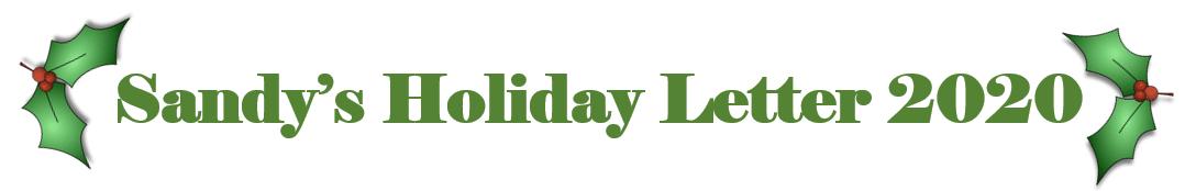 Sandys Holiday 2020 Letter
