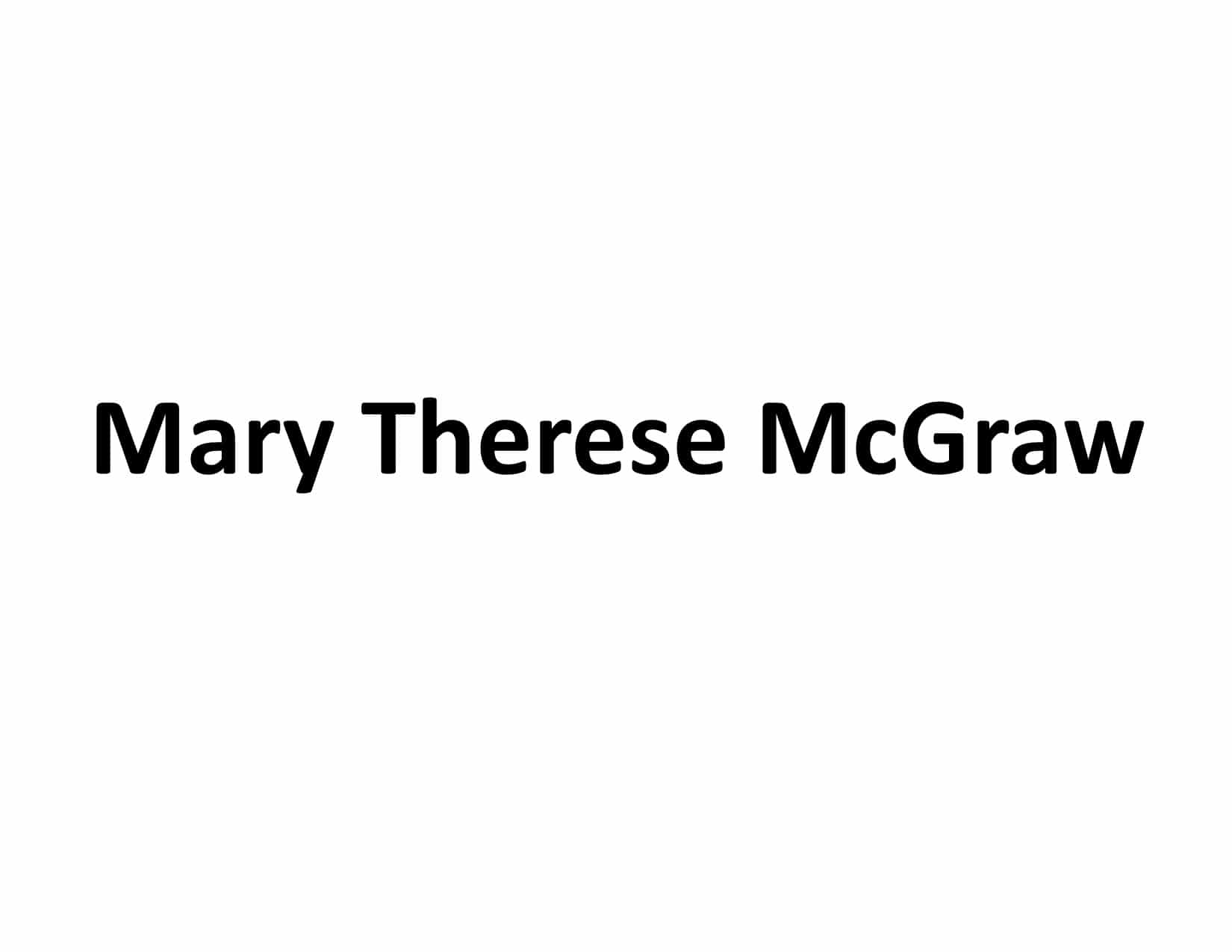 Mary Therese McGraw